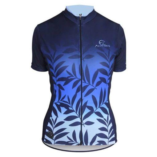 Camisa Ciclismo Feminina Nature Azul