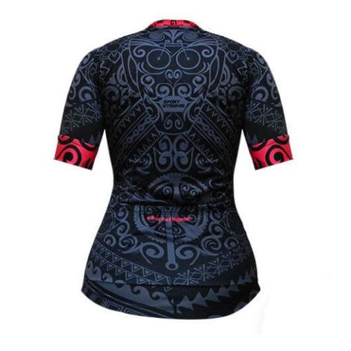 Camisa Ciclismo Feminina Tribo Rosa_3