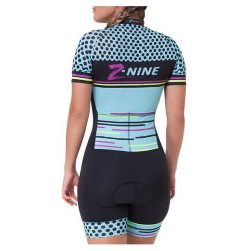 Macaquinho Ciclismo Feminino Aqua Colors