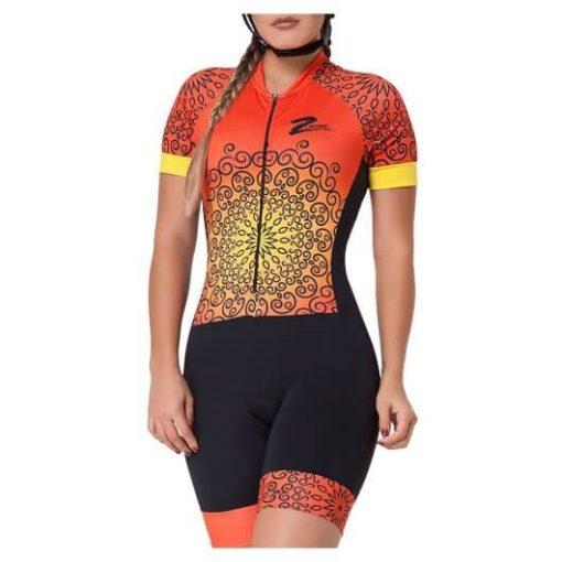 Macaquinho Ciclismo Feminino Sun