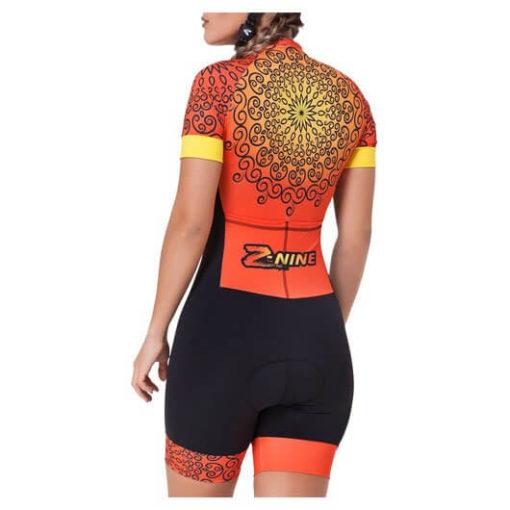Macaquinho Ciclismo Feminino Sun2