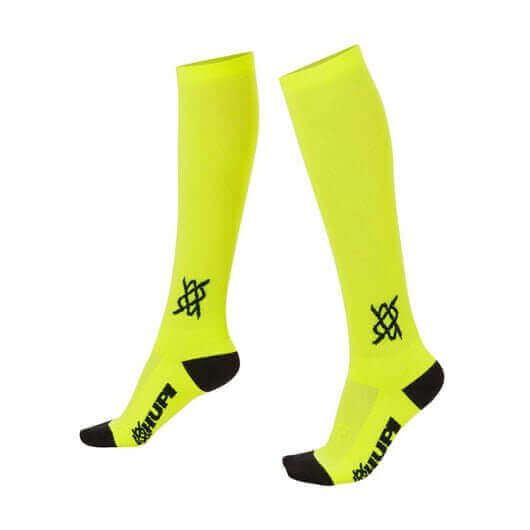 Meia Hupi Amarela Neon
