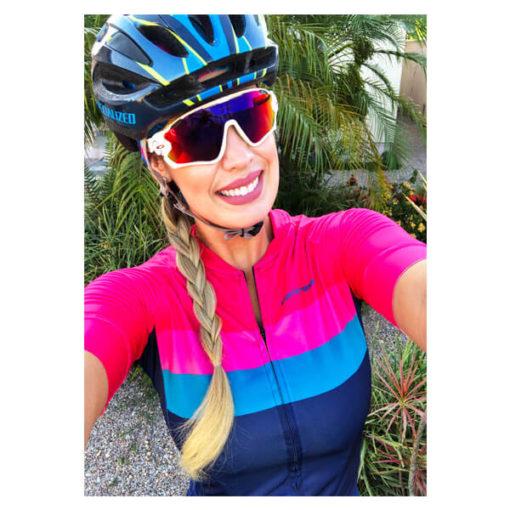 Camisa Ciclismo Feminina Livade 4