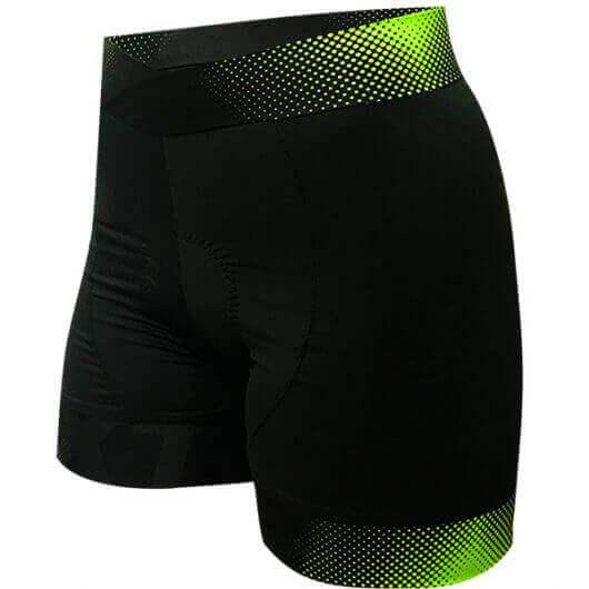 short-ciclismo-feminino-iris-verde