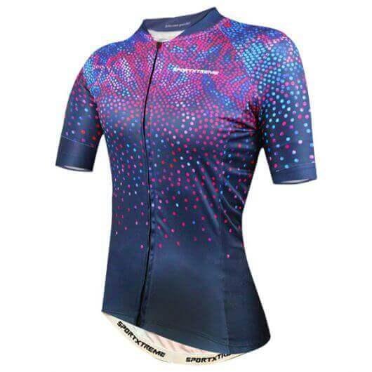 Camisa Ciclismo Feminina Violet