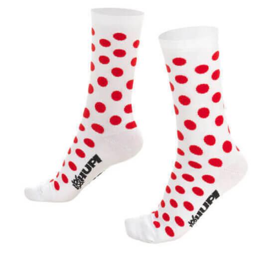 Meia Ciclismo Dots Vermelho