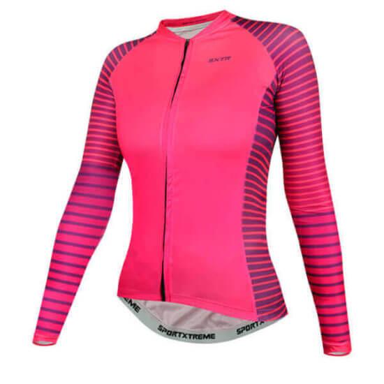 Camisa Ciclismo Feminina Boreal