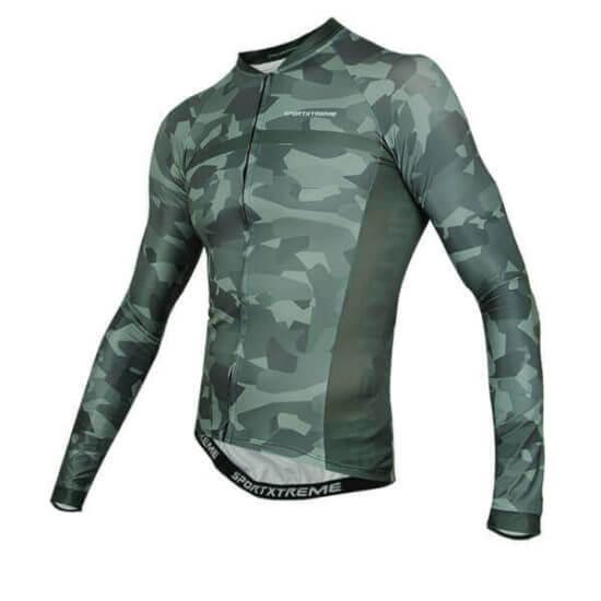 Camisa Ciclismo Army Masculina
