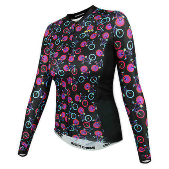 Camisa Ciclismo Feminina Cycling