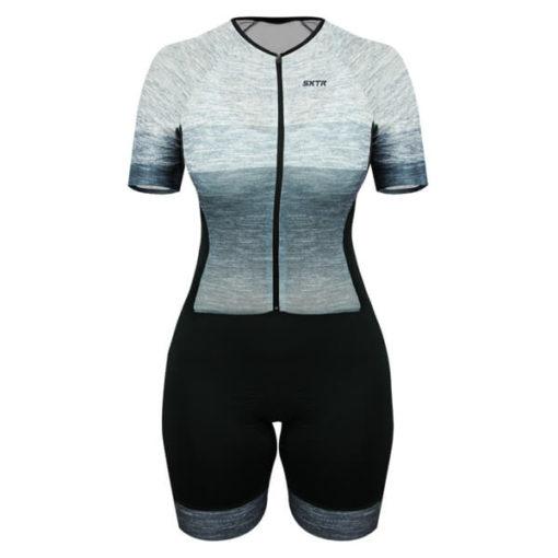 Macaquinho Ciclismo Feminino Mescla 2