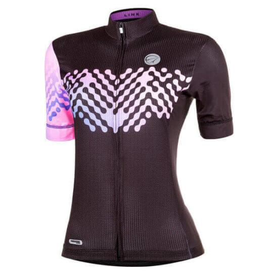 Camisa Ciclismo Feminina Linkpurple