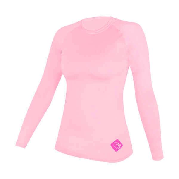 Camisa Segunda Pele Rosa