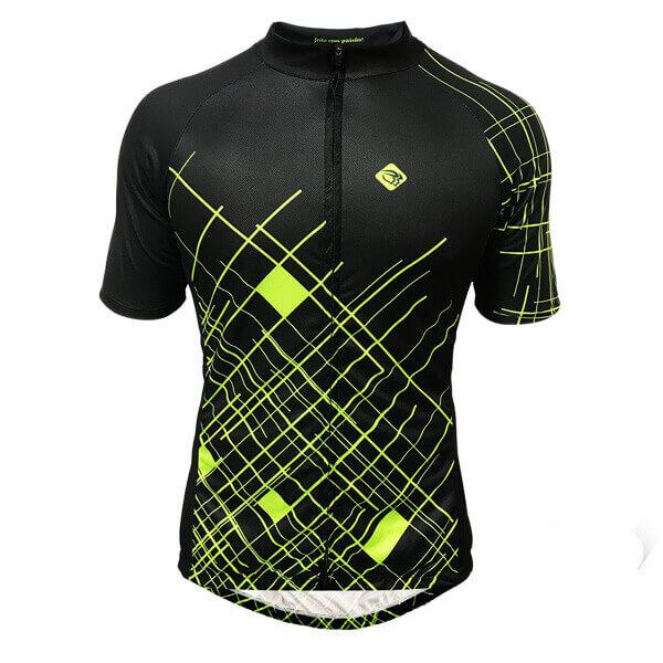 Camisa Ciclismo Masculina Circuit Verde 2