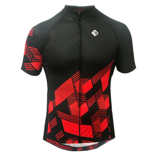 Camisa Ciclismo Masculina Red Cube 2