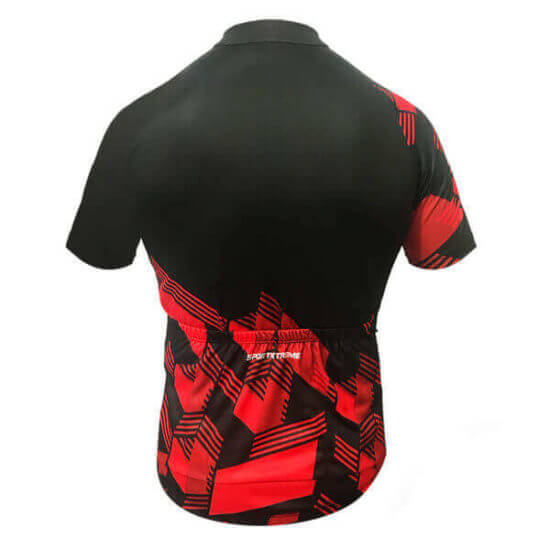 Camisa Ciclismo Masculina Red Cube 3