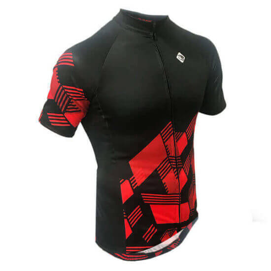Camisa Ciclismo Masculina Red Cube