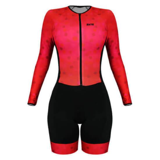 Macaquinho Ciclismo Feminino Scarlet 2