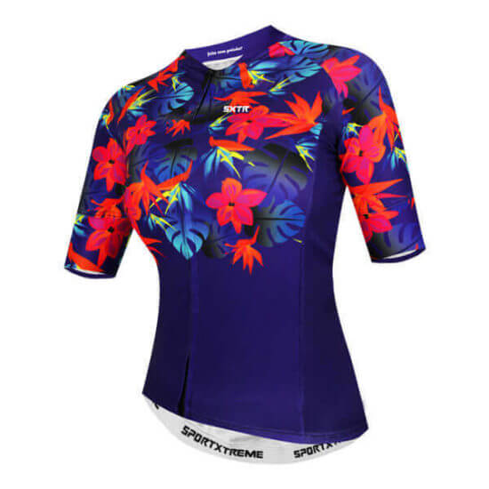 Camisa Ciclismo Feminina Califórnia