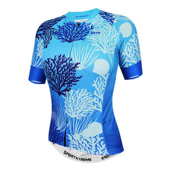 Camisa Ciclismo Belize Azul