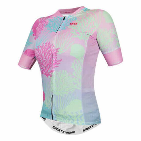 Camisa Ciclismo Feminina Belize