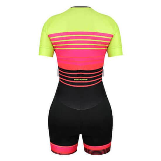 Macaquinho Ciclismo Feminino Unique 3