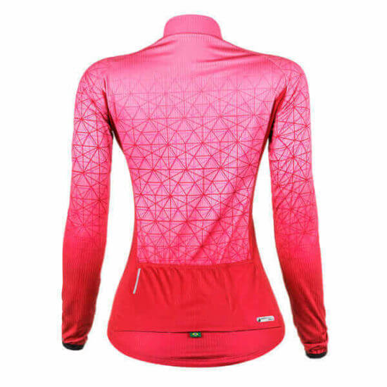 Camisa Ciclismo Feminina Weft 2