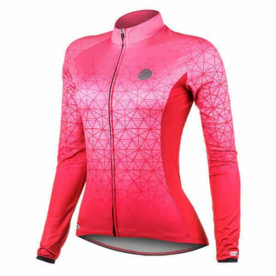 Camisa Ciclismo Feminina Weft