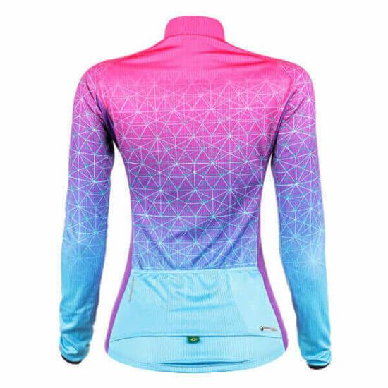 Camisa Ciclismo Weft Turquesa 2