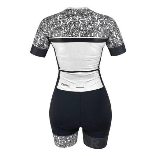 Macaquinho Ciclismo Feminino B&W 2