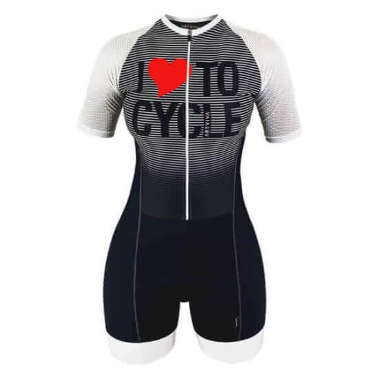Macaquinho Ciclismo Love Cycle