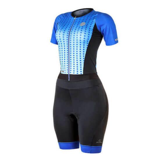 Macaquinho Ciclismo Feminino Spheric Azul 2