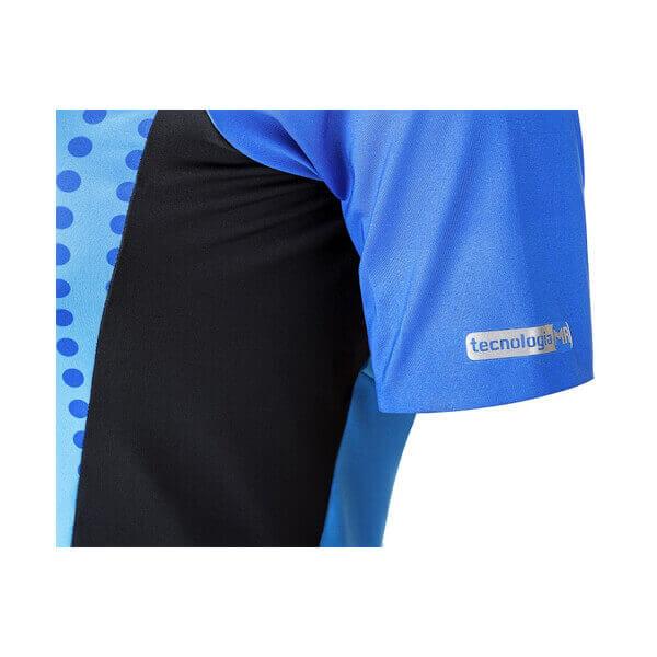 Macaquinho Ciclismo Feminino Spheric Azul 5