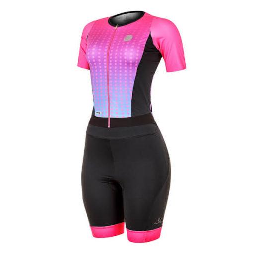 Macaquinho Ciclismo Feminino Spheric Rosa 2