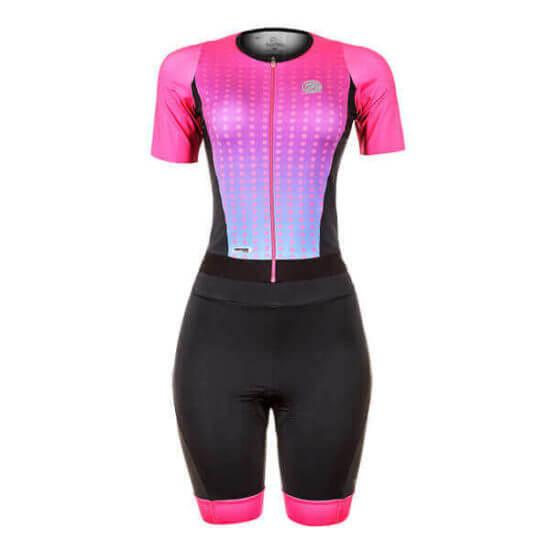 Macaquinho Ciclismo Feminino Spheric Rosa