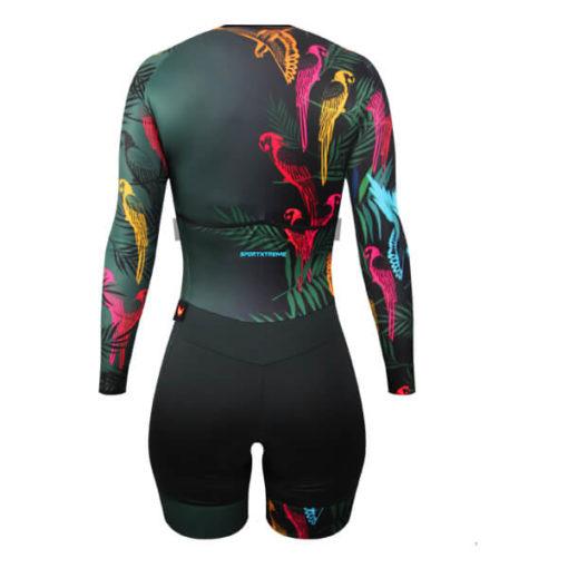 Macaquinho Ciclismo Feminino Botanic 3