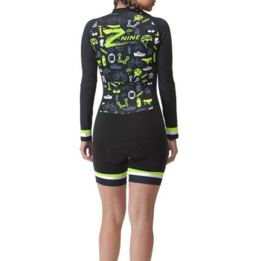 Macaquinho Ciclismo Feminino Cycle 2