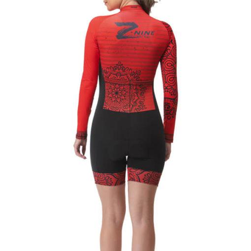 Macaquinho Ciclismo Mandala Vermelho 2