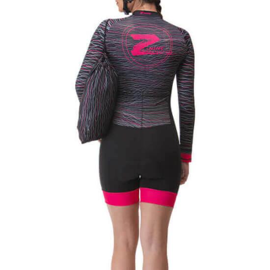 Macaquinho Ciclismo Feminino Hive 2