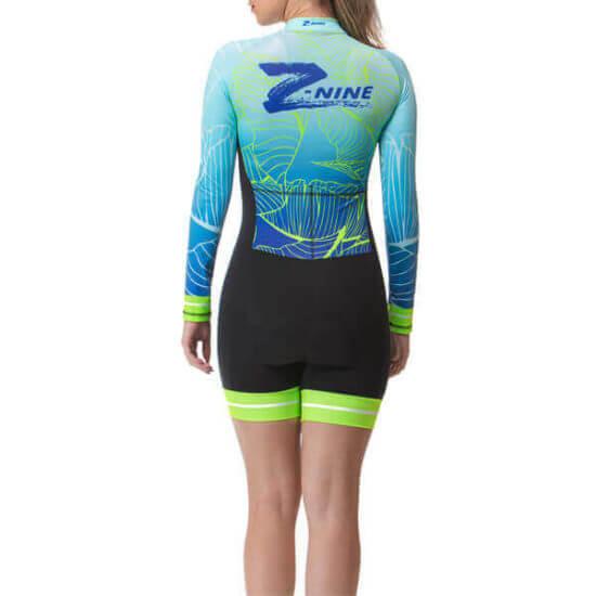 Macaquinho Ciclismo Feminino Ocean 2