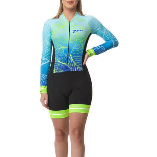 Macaquinho Ciclismo Feminino Ocean
