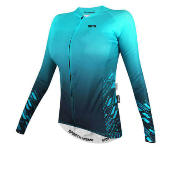 Camisa Ciclismo Move Azul