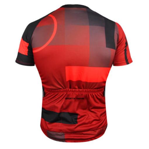 Camisa Ciclismo Tóquio Vermelho 3