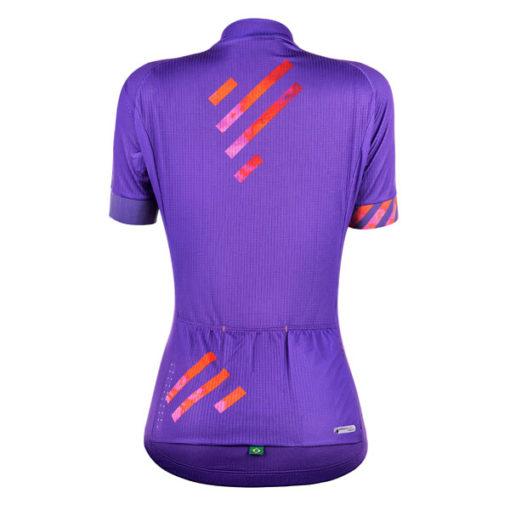 Camisa Ciclismo Skill Roxa 2