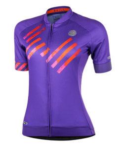 Camisa Ciclismo Skill Roxa