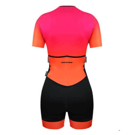 Macaquinho Ciclismo Feminino Solene 3