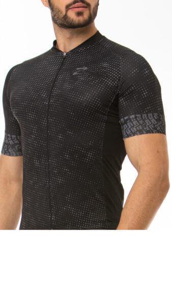 Camisa Ciclismo Gray Dots
