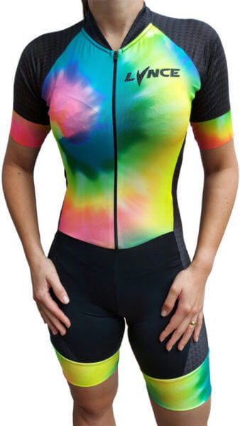 Macaquinho Ciclismo Lynce TieDye