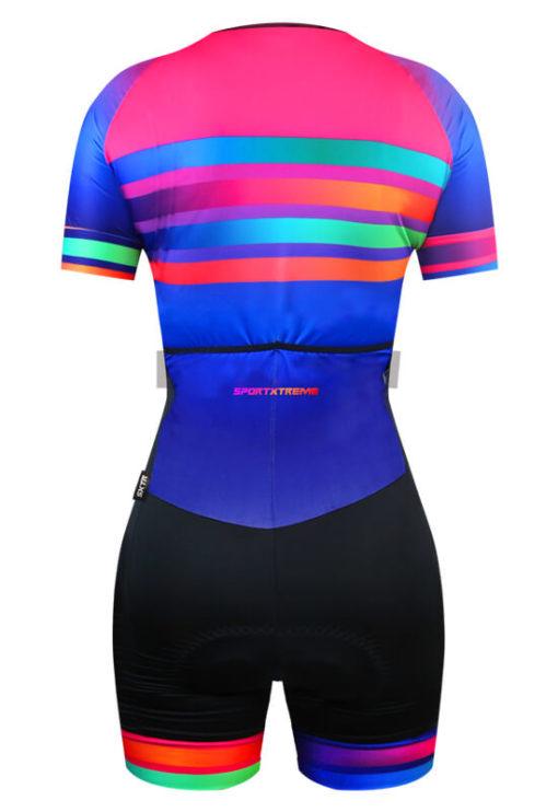 Macaquinho Ciclismo Rainbow 3
