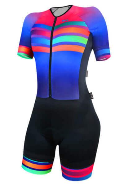 Macaquinho Ciclismo Rainbow