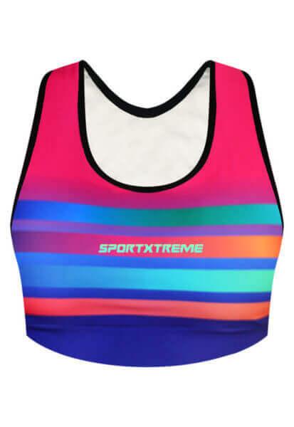 Top Esportivo Rainbow